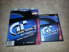 PS2 Gran Turismo 3 A-Spec CIB with Guide