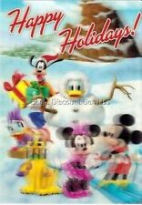 disney - Happy Holidays! 3-D Lenticular Collector's Card - Limited Series - New