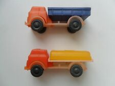 Lot of 2 Vintage Soviet Russian Plastic Toys Vehicles Cars Trucks 1980s Auction