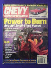 CHEVY HI PERFORMANCE - 502 THUMPER - June 2003