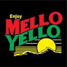 "Mello Yello Racing Nascar Car Bumper Window  Notebook Sticker Decal 4.5""X4.5"""