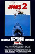 Jaws 2 movie poster print - Roy Scheider (style B) Shark poster 11 x 17 inches