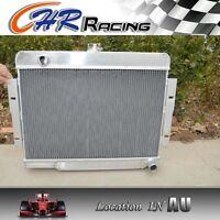 72-86 Jeep CJ,CJ5,CJ7 V8 Chevy Engine Aluminum alloy Radiator/Conversion