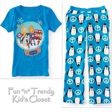 NWT PS Aeropostale Kids Girls Size 6 Pajamas PJ Sleepwear Fleece Pants & Top SET