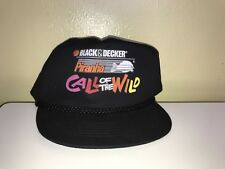 """VTG Black And Decker Pirahna  """"Call Of The Wild"""" Snapback Hat"""