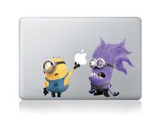 """Despicable Me Minion and Purple Minions Macbook Air/Pro/Retina 13"""" sticker"""
