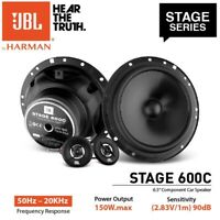 "NEW JBL STAGE 600C 150 Watts 6.5"" 2-Way Car Component Speaker System 6-1/2"""