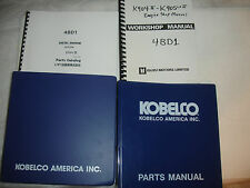 Kobelco K904 904 K905 Isuzu Engine Excavator SHOP MANUAL PARTS Catalog Service