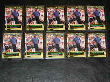 (10) 2002 TIGER WOODS BUICK OPEN PROMO GOLF ROOKIE CARD MINT 1/10,000 RARE