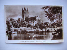 Worcester Cathedral from River Severn.