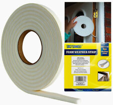 10M Draught Excluder Foam Weather Strip Tape Seal For Doors Windows Insulation