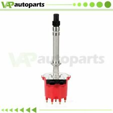 Ignition Distributor For Gm 350 Chevy C1500 Gmc Jimmy Pontiac with Red Cap