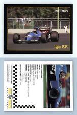 Ligier JS35 #60 Formula 1 Pro Trac's 1991 Premier Racing Card