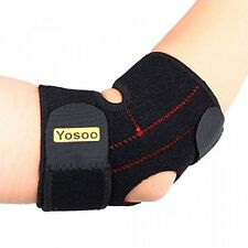 Yosoo Adjustable Neoprene Tennis Golfers Elbow Brace Wrap Arm Support Strap