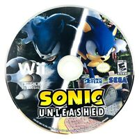 Sonic Unleashed (2008) - Nintendo Wii Action Adventure Video Game - Disc Only