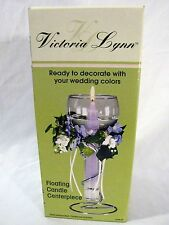 """Wedding Table Decoration by Victoria Lynn Candle Centerpiece 10.5"""" 1098-05"""