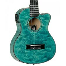 More details for tanglewood twt 24 e tenor electro acoustic ukulele, tahitian coral gloss twt24e