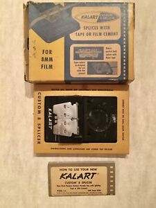 Kalart Custom 8mm Film Splicer Model S-4