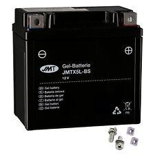 YTX5L-BS GEL-Bateria para Honda CG 125 Es año 2004-2008 de JMT