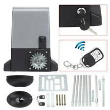 600kg Sliding Gate Opener Automatic Opener Door Remote Control Stop Security Kit