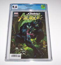 Savage Avengers #3 - CGC NM+ 9.6 - Marvel Modern Age 1:50 Venomized variant
