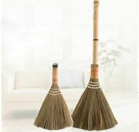 Sweeping Broom Wood Floor Hair Fur Household Brush Natural Kitchen Cleaning Tool