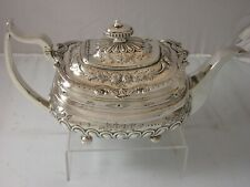 More details for georgian 1812 quality heavy silver teapot 652 grams very nice solomon hougham