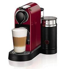 KRUPS XN760540 Nespresso Citiz and Aeroccino Pod Coffee Machine 1710W Cherry Red