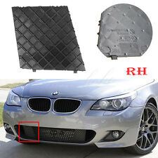 Right For BMW E60 E61 M Sport Front Bumper Cover Lower Mesh Grille Trim Black