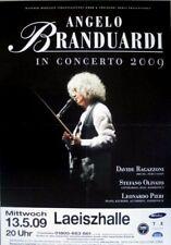 BRANDUARDI, ANGELO - 2009 - Konzertplakat - Concert - Tourposter - Hamburg