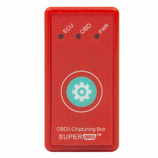 Nitro Super OBD2 ECU Chip Tuning Box Interface Reset Button For Diesel Cars Red