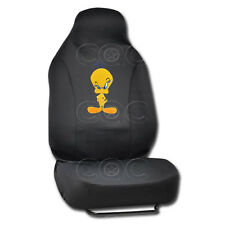 Tweety Bird 1 Piece Integrated High back Seat Cover for CAR SUV VAN