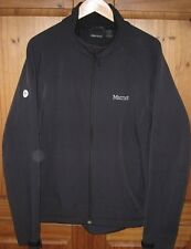 Marmot Men's Jakcet Coat Soft Shell  Zip Fleece inside Medium Weigt Black Large
