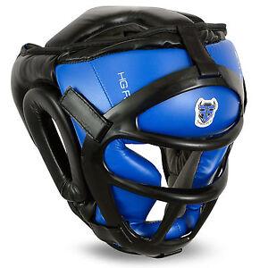 Flare Grill Head Guard Bar Helmet Kick Boxing Gear Face MMA Protection Headgear