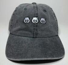 Empyre Panda Panda Panda Desiigner Denim Strapback Dad Hat Baseball Cap