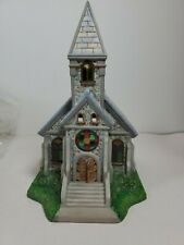 Partylite Olde World Village #2 The Church P7321 Tealight House Excellent Clean