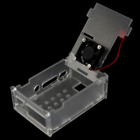 Acrylic transparent Case with Fan for Raspberry Pi Model 4B + Case with FanB Gn