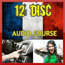 Learn FRENCH In a week Language Training Course on 12 AUDIO CDs