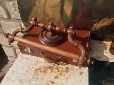 Ciel de lit en bois tourné époque 1900  à détourner en porte serviette