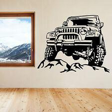 JEEP vinyl wall art sticker decal
