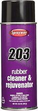 Sprayway Rubber Roller Cleaner & Rejuvenator SW-203 - 12.50oz