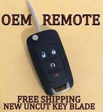 OEM GM CHEVY EQUINOX TRAX FLIP KEY KEYLESS REMOTE START FOB TRANSMITTER 13501916