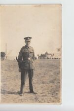 RPPC Army Sergeant-Major at unknown location