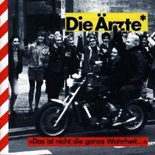 """DIE ÄRZTE """"DAS IST NICHT DIE GANZE WAHRHEIT"""" CD NEUWARE"""