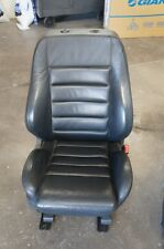 00-02 Audi B5 A4 S4 OEM Passenger Side Heated Leather Seat Onyx Black Excellent!