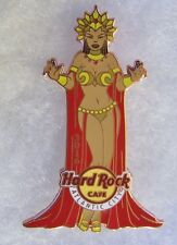 HARD ROCK CAFE ATLANTIC CITY SEXY QUEEN GIRL WEARING RED CAPE PIN # 91374
