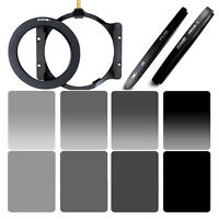 ZOMEI 150mm ND Square Filter Kits ND2&4&8&67/72/77/82mm Ring&CPL&UV for COKIN Z