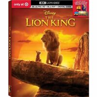 Disney The Lion King Target Exclusive 4K Ultra HD  Blu Ray  2019 Per-Order Now.