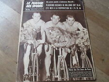 JOURNAL MIROIR DES SPORTS BUT CLUB  716 17 novembre 1958 jacques anquetil