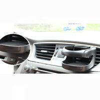 Black Car Interior Air Vent Mount Water Cup Stand Beverage Bottle Drink Holder